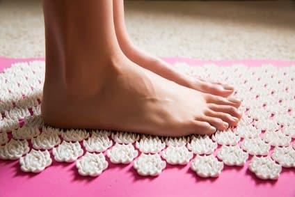 Akupressurmatte - auch für Füße
