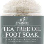 Art Naturals Teebaumöl Fußbad mit Totem Meer Salz