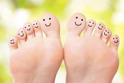 Füße entspannen mit dem Fußmassagegerät