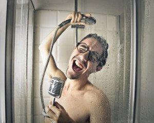 Badradio _ Singen unter der Dusche